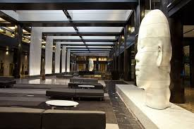 Interior Design For Home Lobby Lobby At Grand Hyatt Ny Bentel U0026 Bentel Architects Planners A I A