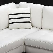 Modern White Sectional Sofa by Modern Sectional Sofa