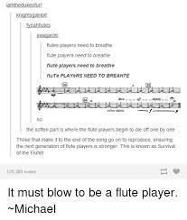 Flute Player Meme - iamthedulkee ofurl knightsgambit fyeahflutes swagaro flutes players
