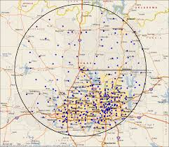 Zip Code Map Dallas Distributed Learning Funding Model Dlfm Center For Learning