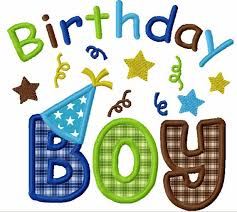 birthday boy instant birthday boy applique machine embroidery