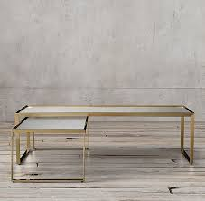 Restoration Hardware Tables Nesting Coffee Table