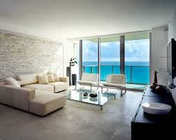 Beach Living Room by Miami Beach Luxury Condos Interior For More Pictures Please Visit