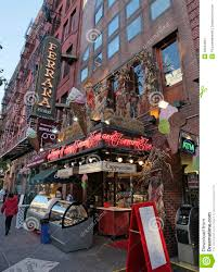 Little Italy Nyc Map by Little Italy Mulberry St New York City Editorial Stock Image