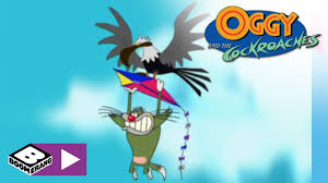 oggy and the cockroaches backyard games boomerang africa youtube