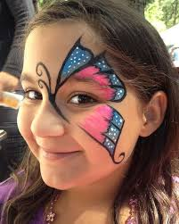 coloring beautiful face paint dog paintings painting