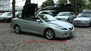 convertible toyota camry toyota camry solara cabrio autoauto pl youtube