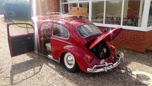 stanced rolls royce air ride vw beetle slammed 60