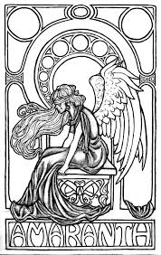 157 best angel coloring pages images on pinterest coloring books