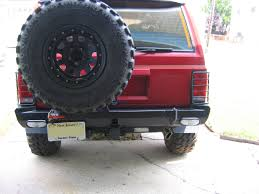 jeep comanche spare tire carrier rear bumper and tire carrier naxja forums north american xj