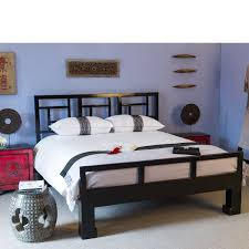 Black Lacquer Bedroom Furniture Superking Black Lacquer Bed Glossy Black Chinese Bed Orchid