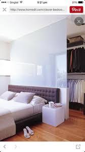 Bedroom Bed Furniture 25 Best Wardrobe Behind Bed Ideas On Pinterest Closet Behind