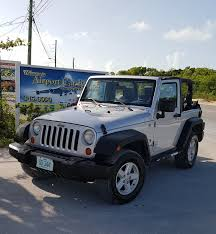 jeep wrangler 2 door hardtop our cars exuma car rentals