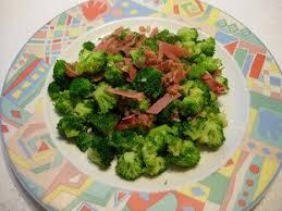 cuisine brocolis cuisine facile com brocolis sautés au jambon