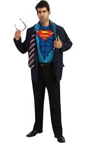 clark kent mens costume glasses superman superhero fancy