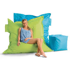 outdoor oversized beanbag chair the green head