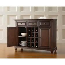 dark brown wood sideboards buffets kitchen dining room cambridge mahogany buffet