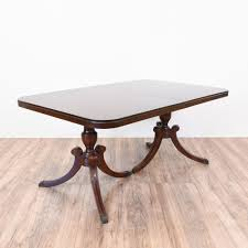 Formal Dining Table by Mahogany Duncan Phyfe Dining Table W 3 Leaves Dark Mahogany