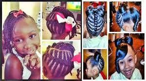 How To Make Hairstyles For Girls by Cute Easy Hairstyles For Black Girls Cute Hairstyles For