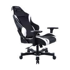 Fold Up Desk Chair Gear Series Alpha Black White Gaming Chair Clutch Chairz Usa