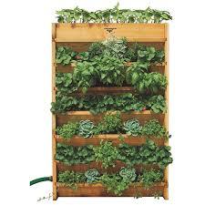 How To Make Vertical Garden Wall - indoor living wall planter u003d easy vertical gardening