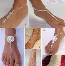 barefoot sandals wedding wonderful diy glamorous barefoot sandals