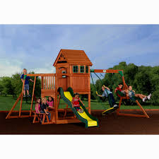 backyard discovery independence swing set 4 home decoration