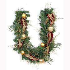 lighted christmas wreath decorating lighted christmas garland large christmas wreath