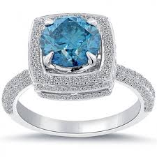 blue diamond wedding rings blue diamond engagement ring 2016 nyc