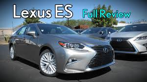 is lexus es 350 a good car 2017 lexus es full review es 350 u0026 300h hybrid youtube