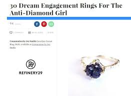 anti engagement ring refinery 29 30 engagement rings for the anti