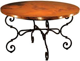 Copper Top Dining Room Tables Copper Top Dining Room Tables Marceladick Com