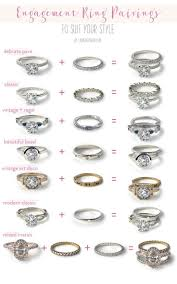 how to find a wedding band wedding bells our favorite engagement ring wedding band