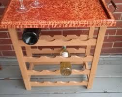 wine rack table etsy
