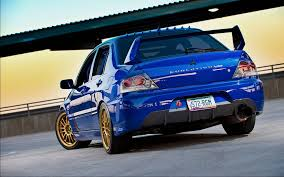 blue mitsubishi lancer evo 8 wallpapers group 76