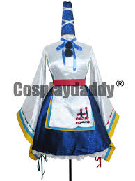 Halloween Costumes Sale Touhou Project Ten Desires Mononobe Futo Cosplay Costume
