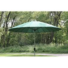 amazon com 9 10 u0027 outdoor wind resistant patio umbrella with