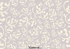 floral ornaments and clipart background vector pattern