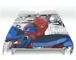 Spiderman Comforter Set Full Spiderman Duvet And Curtains Spiderman Bedding Set South Africa