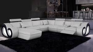 canape panoramique design canapé d angle cuir panoramique canapé d angle cuir