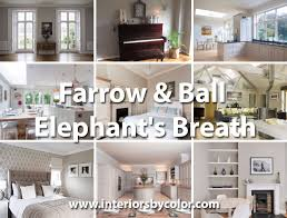 farrow u0026 ball elephant u0027s breath gray paint color pinterest
