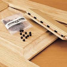 Spacers For Laminate Flooring Amazon Com Space Balls Raised Panel Cabinet Door Spacers For 1 4