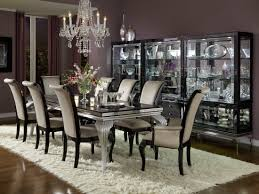 aico hollywood swank starry night black iguana dining set nu03000