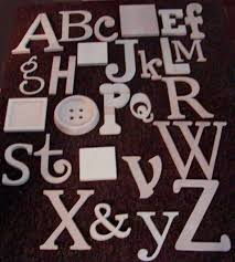 alphabet set wooden letters alphabet wall abc wall unpainted 12
