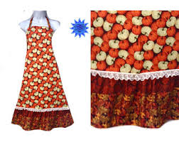 handmade thanksgiving apron etsy
