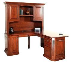 Computer Desk Cherry Wood Cherry Corner Computer Desk Desks L Shaped Desk With Hutch Cherry