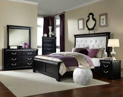 furniture classic and vintage black wood bed frame nu decoration