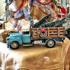 jeep christmas tree old stake bed truck model with christmas trees mcintosh nesbit