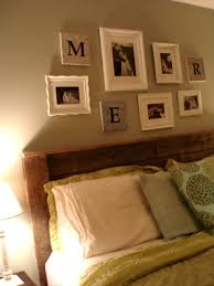Headboards Made With Pallets Upcycling Pallet Headboard