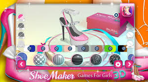 shoe maker games for girls 3d android apps on google play
